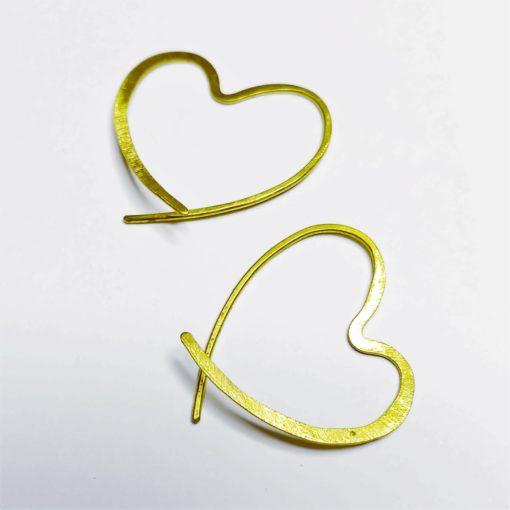 hjerte øreringe