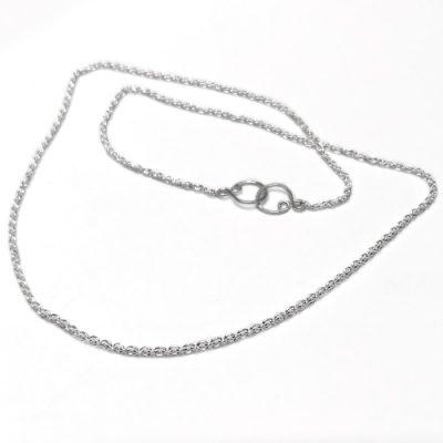 sølv, kæde, ankerkæde, anker, ROH, lås, design, lænker, halskæde, halssmykke,