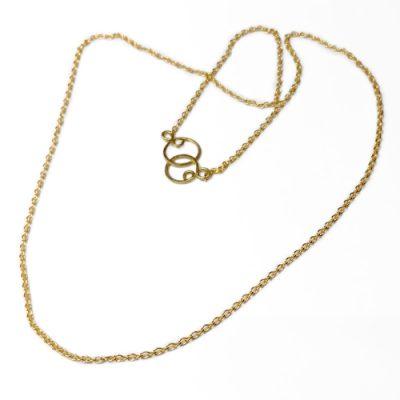 messing, kæde, ankerkæde, anker, ROH, lås, design, lænker, halskæde, halssmykke