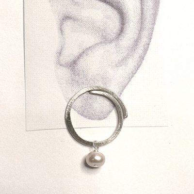 sølv, øreringe, ørestikker, ørestik, former, form, figur, figurer, cirkel, vip, perle, vedhæng, sten