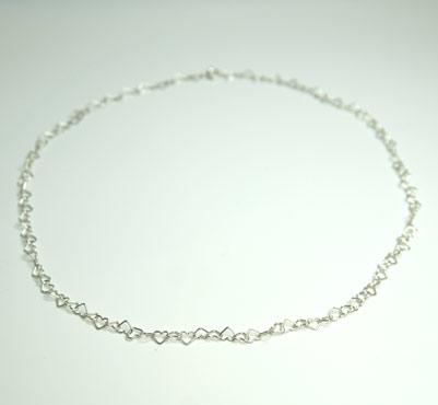 sølv, kæde, ankerkæde, anker, ROH, lås, design, lænker, halskæde, halssmykke, hjerter, charms, hjertesmykke, hjertekæde
