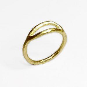 dobbelt ring vielsesring