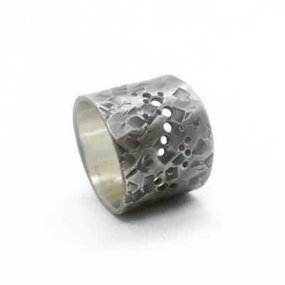 Rustik bred ring