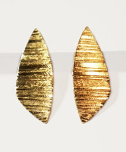 hængeøreringe, stik, stikker, lange, slanke, trekantede, store øreringe, pladeøreringe, unika, sølv, guld, øreringe,